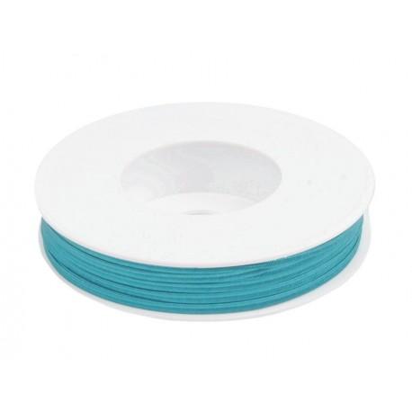 Cordoncino Soutache  3 mmTurquoise Blue   - 2 m