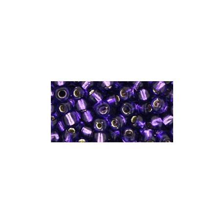 Toho Round 6/0 Silver-Lined Purple