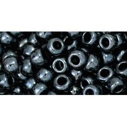 Toho Round 6/0 Metallic Hematite