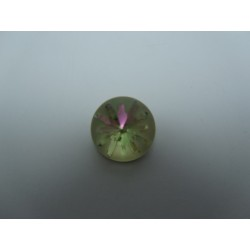 Swarovski Sea Urchin 1695  14 mm  Crystal Luminous Green   - 1 pc