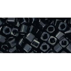 Toho Cubes 3 mm Opaque Jet