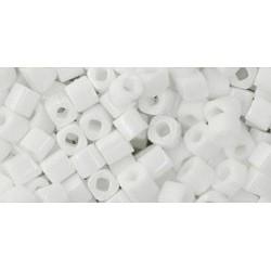 Toho Cubes 3 mm Opaque White