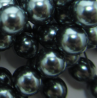 Swarovski  Pearls 5810  6 mm  Tahitian-Look Pearl - 10  Pcs