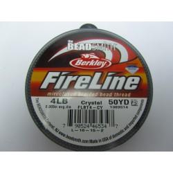Filo Fireline 0.12 mm (4LB) Crystal - 1 Bobina da 45.72 m (50 Yard)