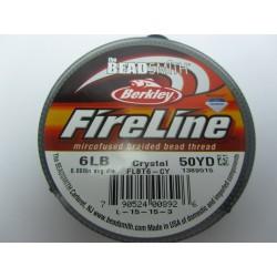 Filo Fireline 0.15 mm  (6LB)  Crystal   - 1 Bobina da 45.72 m  (50 Yard)