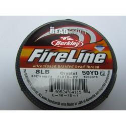 Filo Fireline 0.17 mm  (8LB)  Crystal   - 1 Bobina da 45.72 m  (50 Yard)