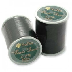 SoNo Beading Thread Black - 1 Spool  100 m
