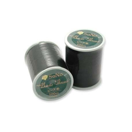 SoNo Beading Thread Black - 1 Spool 100 m