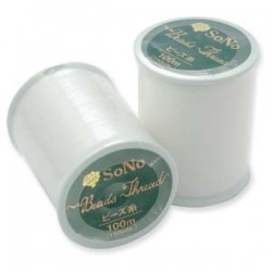 SoNo Beading Thread White - 1 Spool 100 m
