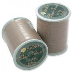 SoNo Beading Thread Natural  - 1 Spool  100 m