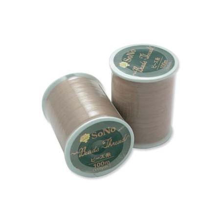 SoNo Beading Thread Natural - 1 Spool 100 m