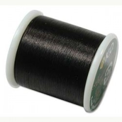 KO Thread  0.25 mm Black - 1 Spool  50 m  (55 Yards)