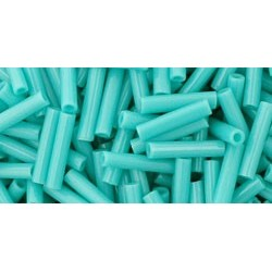 Toho Bugles 9 mm Opaque Turquoise