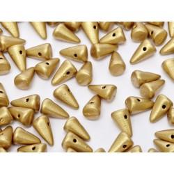 Spikes  5x8  mm Aztec Gold -  20 pcs