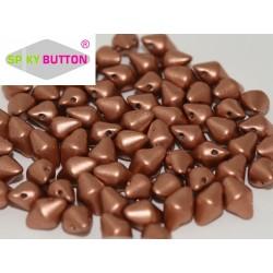 Spiky Button®  4,5x6,5 mm Vintage Copper  -  20 pcs