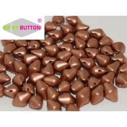 Spiky Button®  4,5x6,5 mm Vintage CopperVintage Copper  -  20 Pz