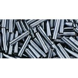 Toho Bugles 9 mm Metallic Hematite