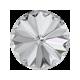 Rivoli  Swarovski 1122  12 mm Crystal -  2 pz