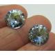 Rivoli  Swarovski 1122  12 mm Crystal Blue Shade -  2 pz
