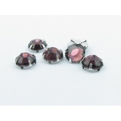 Extra Roses (Roses Montées) ss16 (3,8-4 mm) Amethyst - 10 pz