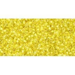 Rocailles Toho 15/0 Silver-Lined Lemon - 10 g
