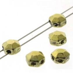 Honeycomb Jewel 6 mm Full Amber - 20 Pz