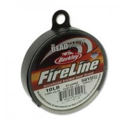 Filo Fireline 0.20 mm  (10LB)  Crystal   - 1 Bobina da 45.72 m  (50 Yard)