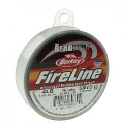 Filo Fireline 0.12 mm  (4LB)  Smoke   - 1 Bobina da 45.72 m  (50 Yard)