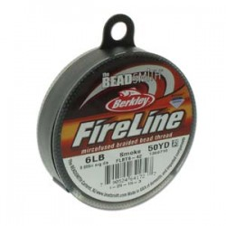 Fireline Thread  0.15 mm (6LB)  Smoke Grey    - 1 Spool of  50 Yard