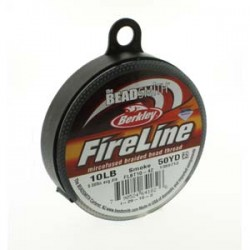 Filo Fireline 0.20 mm (10LB) Smoke Grey - 1 Bobina da 45.72 m (50 Yard)