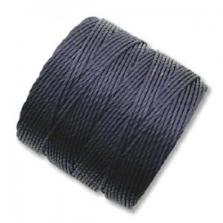 S-Lon Bead Cord 0.5 mm  Navy   - 1 Spool  70 m