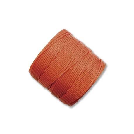 S-Lon Bead Cord 0.5 mm Orange  - 1 Bobina da 70 m