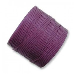 S-Lon Bead Cord 0.5 mm  Plum - 1 Spool  70 m