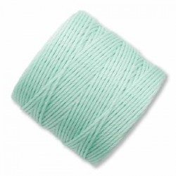 S-Lon Bead Cord 0.5 mm Light Mint Green - 1 Bobina da 70 m