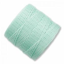 S-Lon Bead Cord 0.5 mm Light Mint Green - 1 Spool 70 m