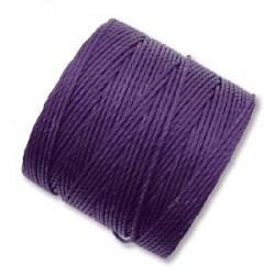 S-Lon Bead Cord 0.5 mm Purple - 1 Spool 70 m