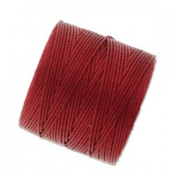 S-Lon Bead Cord 0.5 mm  Red-Hot  - 1 Spool  70 m