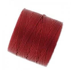 S-Lon Bead Cord 0.5 mm Red-Hot - 1 Spool 70 m