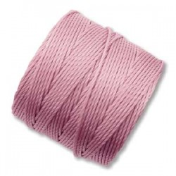 S-Lon Bead Cord 0.5 mm  Rose  - 1 Spool  70 m