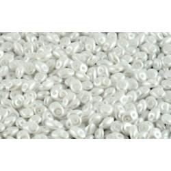Miniduo 2 x 4 mm Pastel White  - 5 g