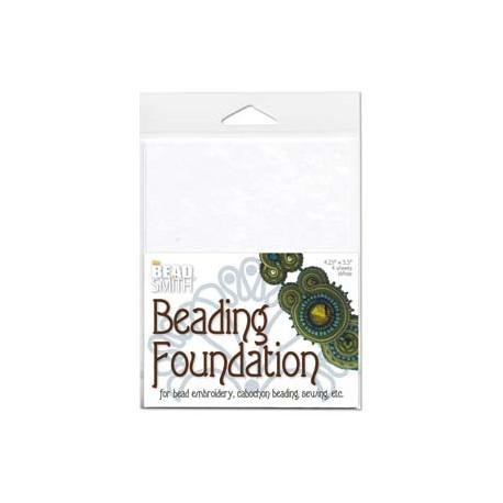 Beadsmith Beading Foundation  14 x 10 cm  Bianco   - 4 pz