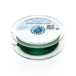 Nylon Satin Cord Griffin Green 2 mm