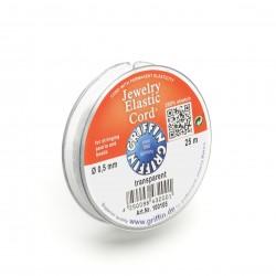 Griffin Jewelry Elastic Cord  (Stretch Magic)  Transparent 0,5 mm - 5 m Spool
