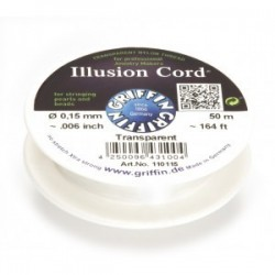 Filo Invisibile Illusion Cord Griffin 0,15 mm - Bobina 50 m