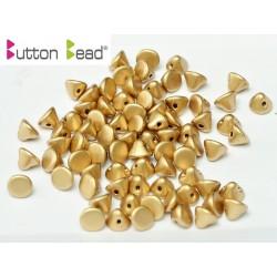 Perline Button Bead 4 mm Aztec Gold - 20 Pz