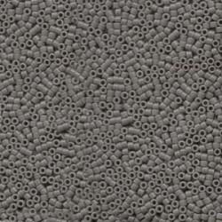 Miyuki Delica  11/0 Opaque  Grey- 5 g
