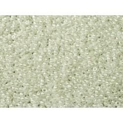 Miyuki Round Seed Beads 15/0 White Pearl Ceylon - 10 g - code 0402