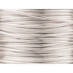 Filo di Rame Griffin Fancy Wire Color Argento - 0,50 mm - Bobina 50 gr ( circa 25 m)
