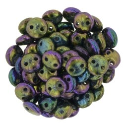 CzechMates Lentil 6 mm Iris Purple - 50 pcs