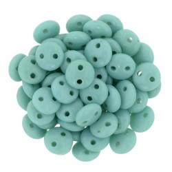 Perline Lentil  6 mm Turquoise - 50 Pz
